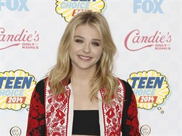 Chloë Grace Moretzová na Teen Choice Awards (Los Angeles, 10. srpna 2014)