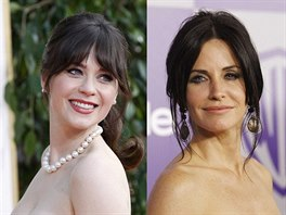 Kerry Washingtonová, Zooey Deschanelová a Courteney Coxová