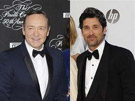 Kevin Spacey a Patrick Dempsey