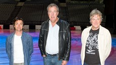Jeremy Clarkson, Richard Hammond a James May z pořadu Top Gear