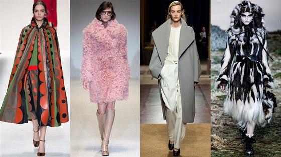Kabáty hrají po celou sezonu podzim - zima 2014 2015 hlavní roli v ... 2ebcc9377b