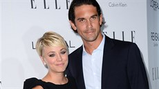 Kaley Cuoco-Sweetingová a Ryan Sweeting (Los Angeles, 20. října 2014)