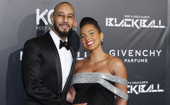 Swizz Beatz a Alicia Keys (New York, 30. října 2014)