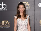 Hilary Swanková na Hollywood Film Awards (Los Angeles, 14. listopadu 2014)
