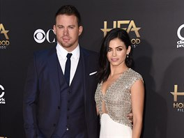 Channing Tatum a Jenna Dewan Tatumová na Hollywood Film Awards (Los Angeles,...