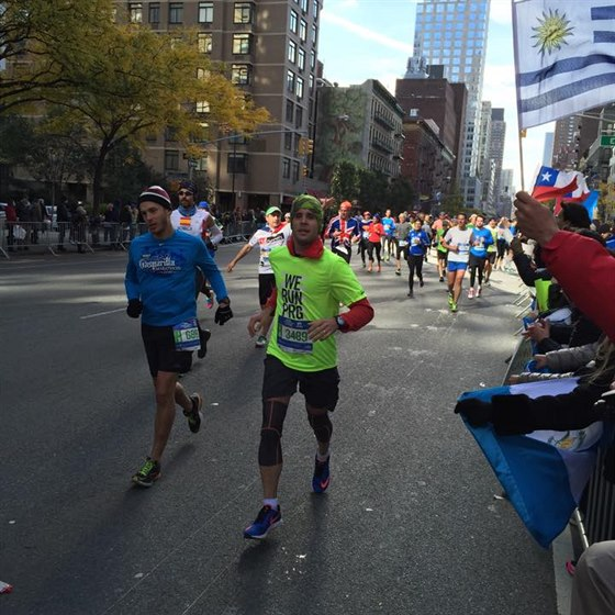 Maratonské nebe - New York City maraton 2014