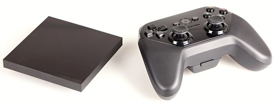 "Set-top-box Android TV a ovladač ""gamepad"""