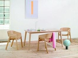 Židlové křeslo Merano a stůl Jutland