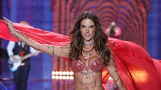 Alessandra Ambrosio na Victoria's Secret fashion show v podprsence Dream Angels...