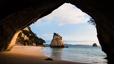 Nový Zéland, Cathedral Cove