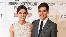 Keira Knightley a James Righton na Britain Independent Film Awards (Londýn, 7....