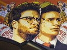 Reklama na film The Interview v Los Angeles (17. prosince 2014)