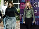 Kirstie Alley v letech 2004 a 2015