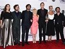 Herci ze seriálu Teorie velkého třesku na People's Choice Awards (Los Angeles,...