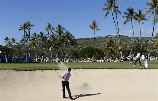 Jimmy Walker na turnaji v Honolulu