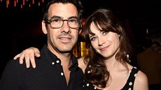 Jacob Pechenik a Zooey Deschanelová (Los Angeles, 10. září 2014)