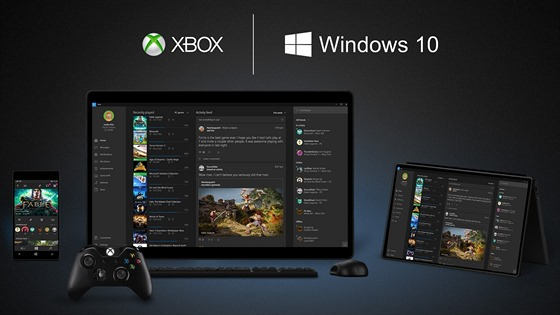 Windows 10 propojí PC a Xbox One