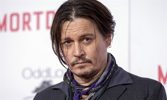 Johnny Depp (Los Angeles, 21. ledna 2015)