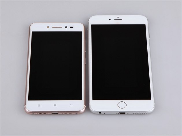 Lenovo S90 a iPhone 6 Plus