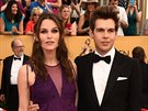 Keira Knightley a James Righton (Los Angeles, 25. ledna 2015)