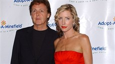 Heather Millsová a Paul McCartney v roce 2004