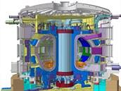 Reaktor  ITER – největší termojaderný reaktor na světě, který předvede možnost...