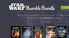 Star Wars v akci Humble Bundle