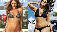 Hannah Davisová a Ashley Grahamová v plavkovém magazínu Sports Illustrated...