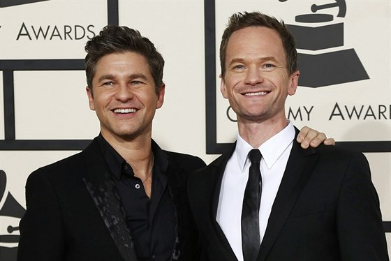 David Burtka a Neil Patrick Harris (Los Angeles, 8. února 2015)