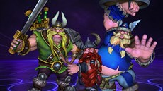 Lost Vikings v Heroes of the Storm