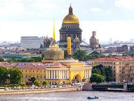 Petrohrad, pak Leningrad a dnes znovu Petrohrad
