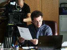 Záběr z natáčení nových dílů seriálu Případy 1. oddělení