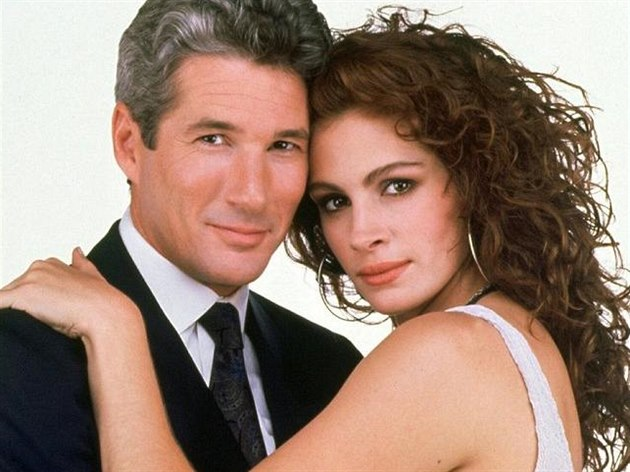 Richard Gere a Julia Robertsová ve filmu Pretty Woman (1990)