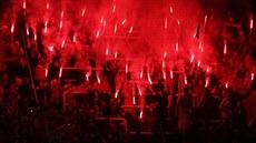 Fanoušci Olomouce v posledním duelu sezony. 6ca0d1b064