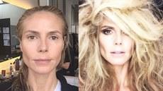 Heidi Klumová se nebojí ukázat svou přirozenost