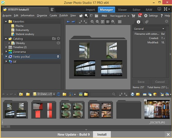 Zoner Photo Studio Free 17