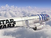 Dreamliner All Nippon Airways ve Star Wars provedení