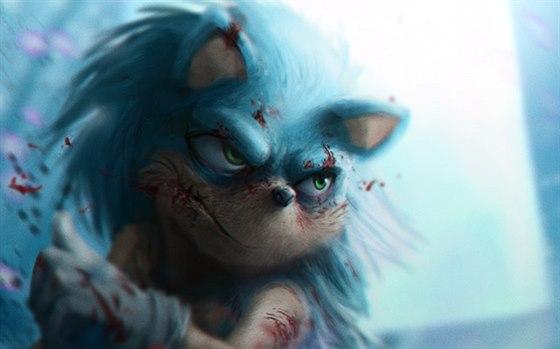 Sonic ježko porno