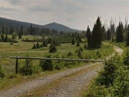 Pro turisty je cesta Luzenským údolím k přechodu Modrý sloup zavřená.