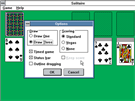 Solitaire ve Windows 3.0 - nastavení