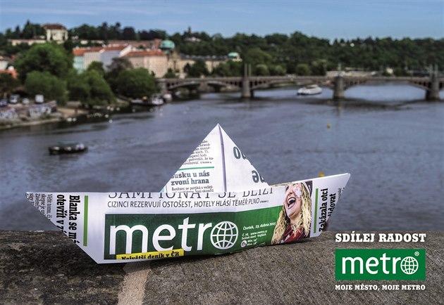 Sdílej radost - lodička z Metra.