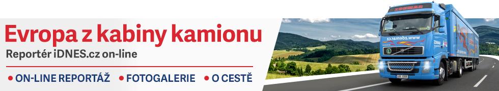 Kamionem přes Evropu - sledujte on-line zážitky                ze silnic