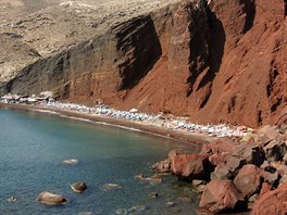 Rudá pláž (Red Beach), Santorini