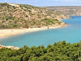 Pláž Vai, Kréta