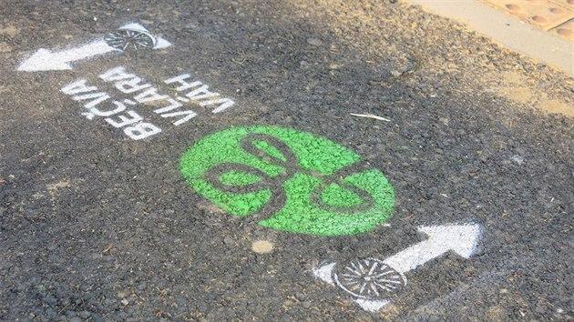 23d6c0b6fe2 První úsek cyklostezky Bečva - Vlára - Váh je otevřený ve Valašských  Kloboukách.