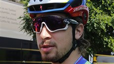 Peter Sagan na prahu Tour de France