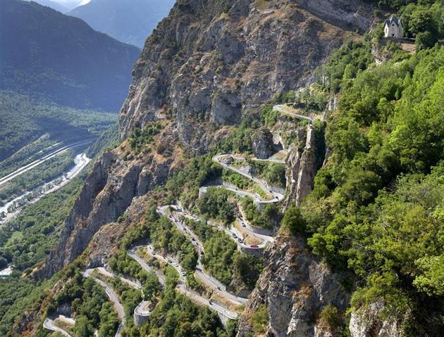 Lacets de Montvernier - nejúžasnější serpentiny Tour de ...
