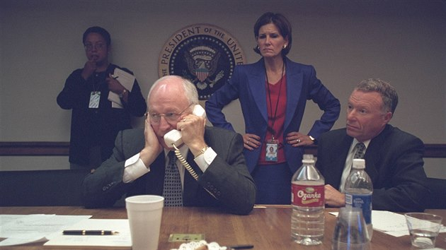 U.S. Vice President Dick Cheney is pictured with Chief of Staff I. Lewis