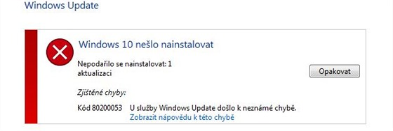 Upgrade na Windows 10 se nám zatím na Lenovu Ideapad Y570 s Windows 7...