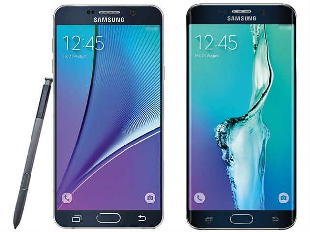 Samsung Galaxy Note 5 a Galaxy S6 edge+